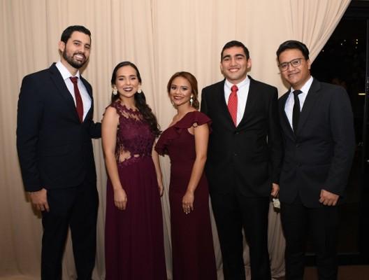 Mario Fernández, Abby Ortega, Flor de Hurtado, José Gadea y Pedro Rodríguez