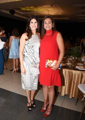 Natalie Canahuati y Rina Medina