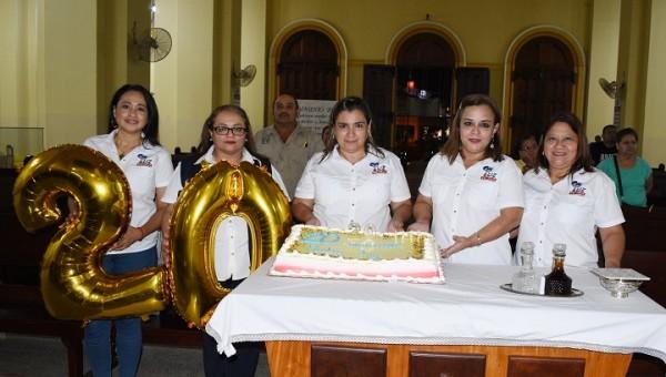 Con misa de Acción de Gracias festejan el 20 aniversarios de Radio Luz