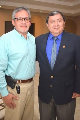 Rene Argueta y Óscar Díaz.