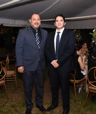 Walter Paredes y Andrés Paredes