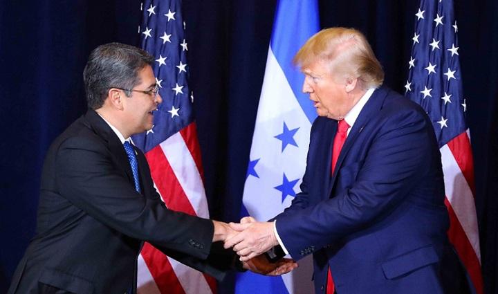 Hernández y Trump dialogan sobre seguridad, migración, empleo e inversiones