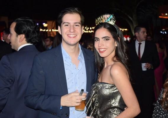 Alejandro Tefel y Andrea Lama.