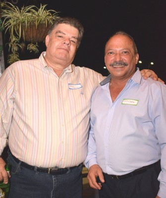 Alfonso Molina y Emilio Castro