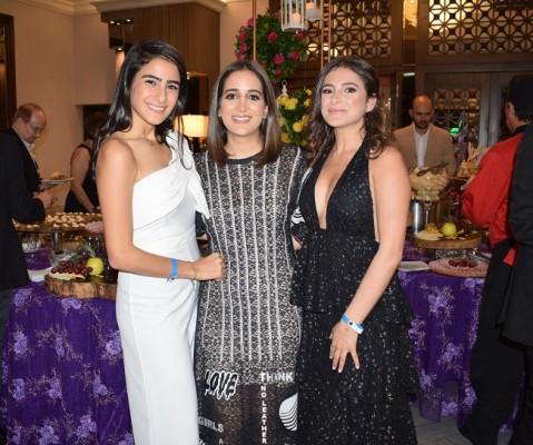 Bellas las Qubain: Amira, Valeria y Ana...