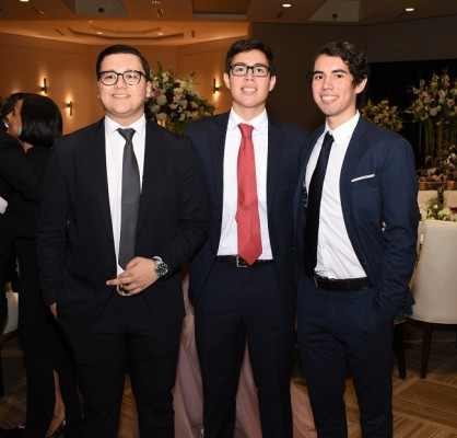 Andrés Urmeneta, Eduardo Torres y Alejandro Torres