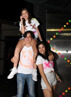 Anthony Berkeley, Elysa Berkeley y Valeria Castillo