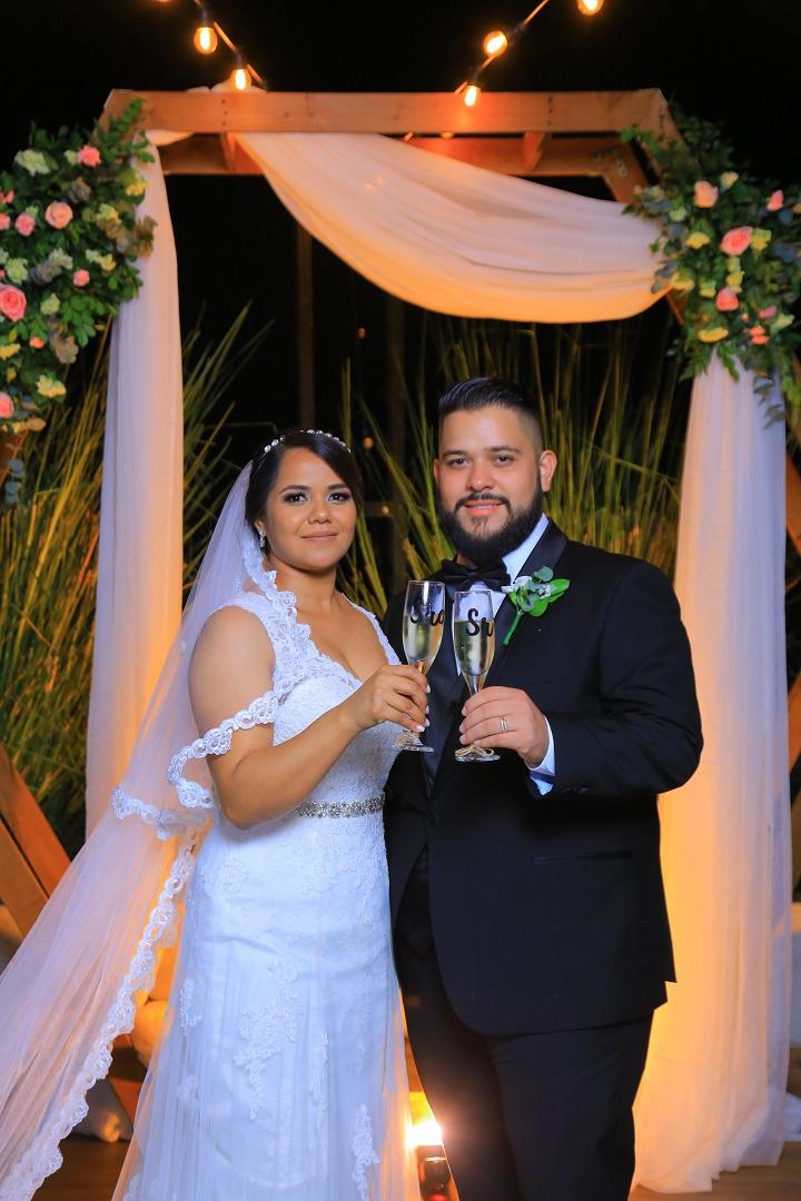 La boda de Nelson y Andrea ¡tras 4 años de amor!