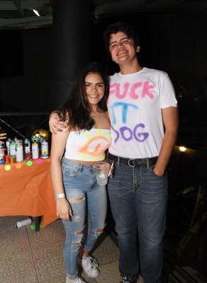 Camila Lagos y Sergio Díaz