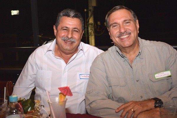 Carlos Zablah y José Fonseca.