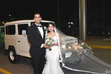 La promesa de amor entre Gabriel Pedroza y Claudia Tinoco