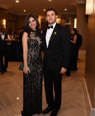 Daniel Pitsikalis y Alexandra Zhgeibra