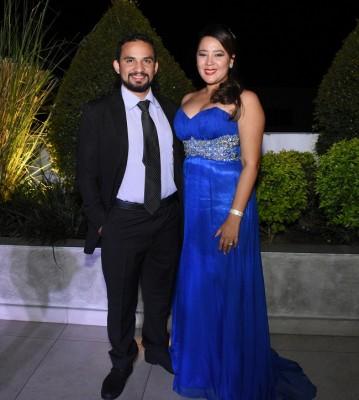 Daniel Sabillón y Raquel Lozano