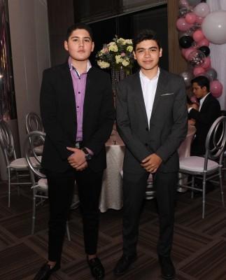 Diego Reyes y Rafael Padilla