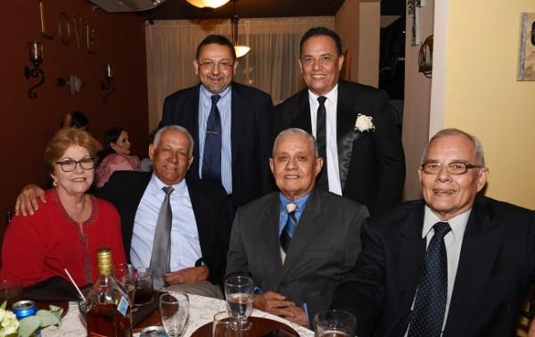 Donosso Cubero, Gustavo Castro, Jacky Heyer, Francisco Calix, Víctor y Jorge Castro.