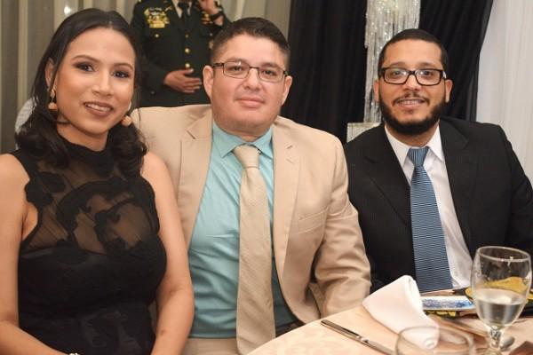 Elka Mejía, Carlos Kattán y Andrés Ferrera.