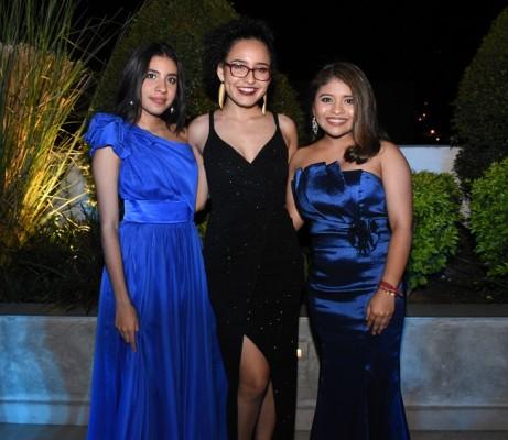 Eylin Sabillón, Nancy Castillo y Nancy Suazo