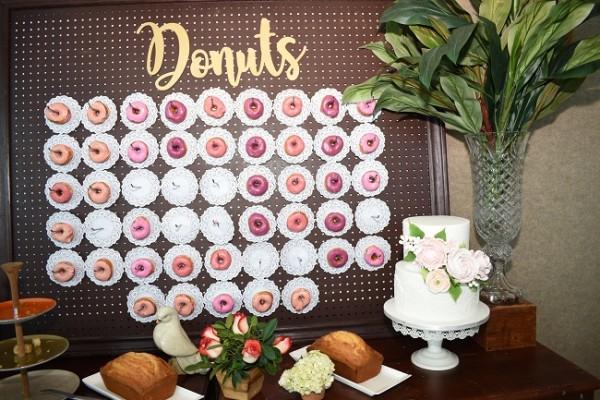 Fue una puesta en escena repleta de muchas sorpresas y dulces deleites para los refinados paladares de las invitadas.