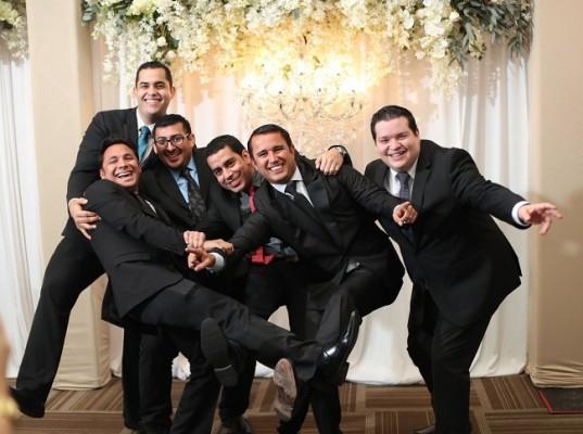 Gabriel Pedroza, Cesar Andino, Allan Aldana, Luis Carlos Hernández, Raúl Montalvo y Mario Castellanos