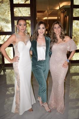 Gabriela Bardales, Diana Acosta y Paola Dubon