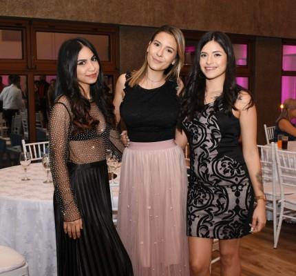 Gabriela Interiano, Bárbara Fuentes e Iveth Guzmán
