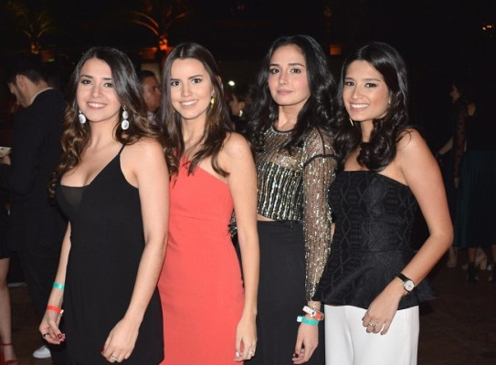 Giovanna Handal, Marcela Cabezas, Daysi Handal y Camila Londoño.
