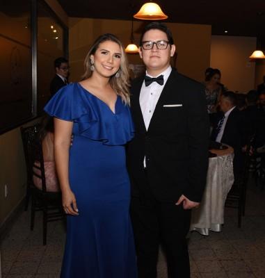 Gretel Martínez y Cristian Andrade