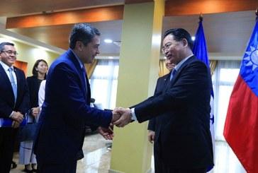 Honduras y Taiwán fortalecen relaciones en cooperación e inversiones