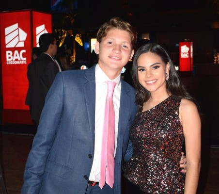 Jensen Carter e Isabella Bahr.