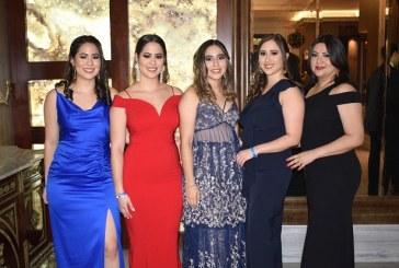 Sociedad sampedrana Vive La Magia en el Club Hondureño Árabe en exclusiva fiesta