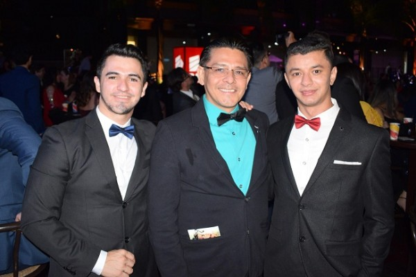 Keiton Steven Sotomayor, Luis Caballero y Roberto Figueroa.