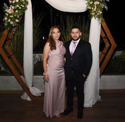 La hermana del novio, Keyla y Manuel Ramírez