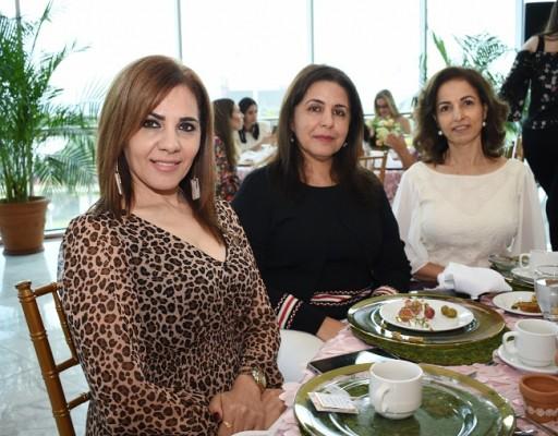 Leyla Abuid, Wafa Zgheibra, y Marlene Kamar