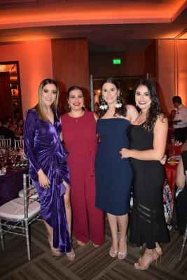 Leyla Sansur, Jessica Cruz, Lynnet y Fernanda Saybe
