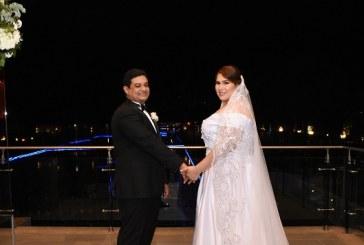 La boda Banegas-Segurado: natural, romántica y con un telón de fondo fascinante
