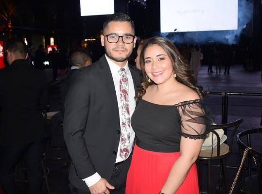 Luis Brito y Ethel Mejia