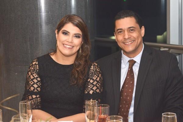 Mónica Ortiz y Tomas Minveza.