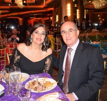Maribel y George Andonie.