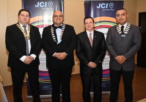 Mario Padilla, Luis Buendía, Edy López y Pedro López