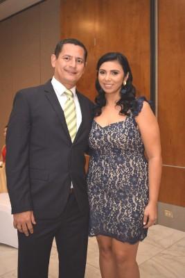 Marvin Lara y Aryani Ortega.