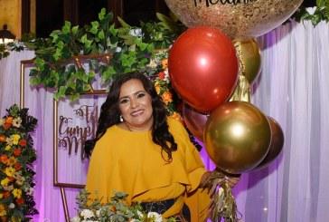 Melania de Palada ¡una cumpleañera regia!