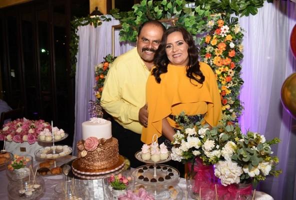 Melania de Palada y su esposo, Wilmer Palada