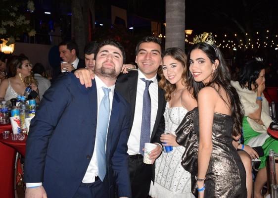 Michael Canahuati, Alejandro Canales, Andrea Lama y Paola Rodríguez.