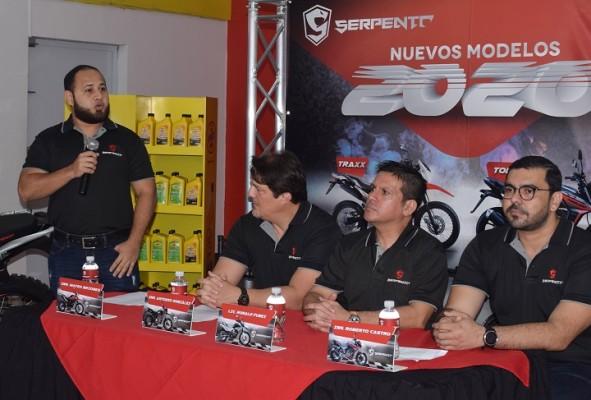 SERPENTO presenta los nuevos modelos de motocicletas 2020