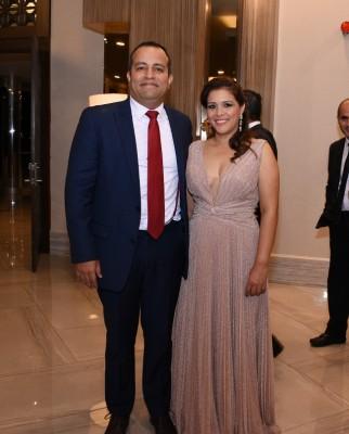 Nadia Barrios de Díaz y Rodrigo Díaz
