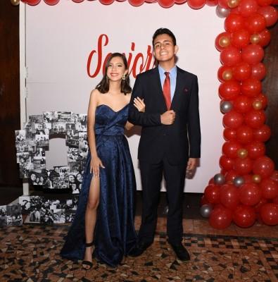 Nicole Rodríguez y Luis Coello.