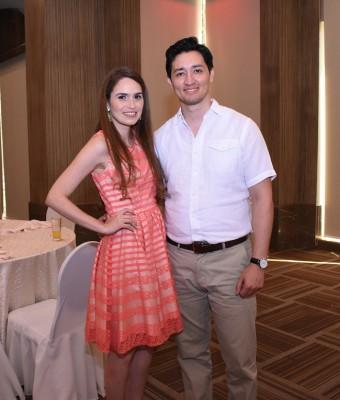 Paola Kattán y Alejandro Martínez.