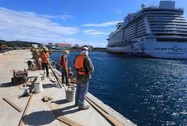 Con ampliación del puerto de Roatán habrá capacidad para recibir en un solo día hasta 18.000 cruceristas