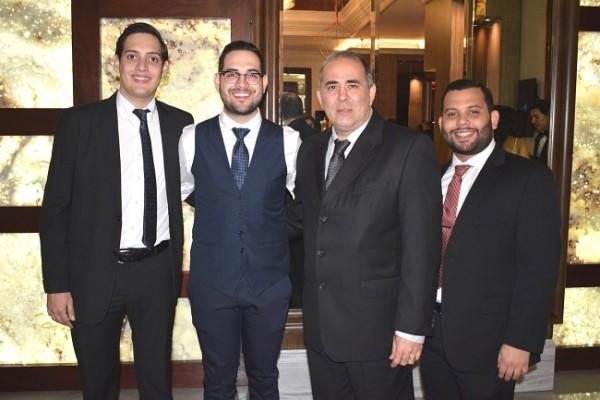 Rafael Wittwer, Wendell Mejía, Ricardo Chahín y Beker Turcios.