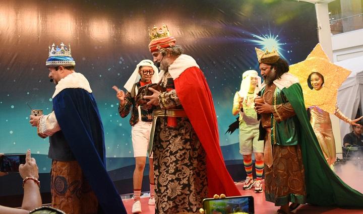 Los reyes magos llegan a Multiplaza San Pedro Sula
